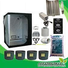 Ultimate 600w Complete Growing Kit For Hydroponics Indoor Tent Light Fan 120x120