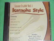 Jason Crabb~#1 ~Christian~Daywind~Karaoke Style ~ Walk on Water ~ Daystar ~ CD+G