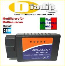 Interface AutoDia für Fiat Alfa Romeo Lancia OBD 2 Diagnose Scanner OBD2 Tester