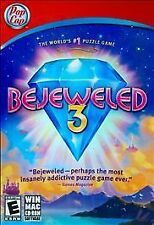 Bejeweled 3  (PC, 2010) WIN MAC CD-ROM, from Pop Cap, Rated E for Everyone