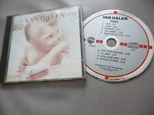 VAN HALEN : 1984 CD ALBUM WARNER OBIETTIVO MADE IN WEST GERMANIA 9 23985-2 INC.