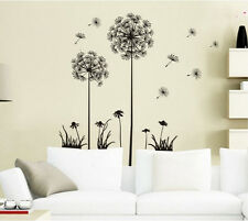 Dandelion Flower Wall Sticker Decal Art Transfer Graphic Stencil Vinyl Home