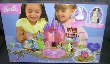 Barbie Princess and the Pauper Board Game RARE Complete 3D Castle 2004 Exclnt
