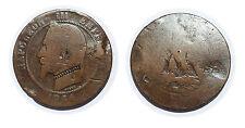 FRANCE. 10 Centimes 1854 BB - Monnaie satirique