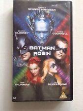 Batman & Robin 1997 VHS