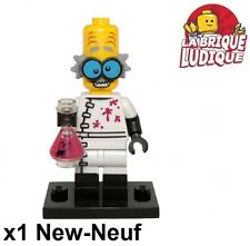 Lego - Figurine Minifig Minifigurine série 14 monsters scientist fou crazy NEUF