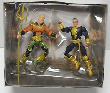 AQUAMAN vs BLACK ADAM DC Collectibles Injustice Action Figure 2-Pack Complete