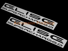 "2x 8.5""21.6cm Elise Supercharged Decal Sticker Lotus SC S R Sport Cup 111R S1 S2"