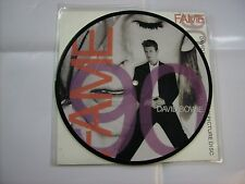 "DAVID BOWIE - FAME 90 - RARE 7"" PICTURE BRAND NEW VINYL 1990"