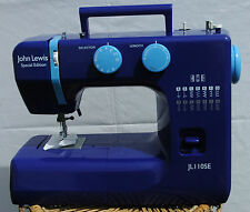 John Lewis JL110 SE Sewing Machine - 14 Stitch- Blue - AG- Made by Janome
