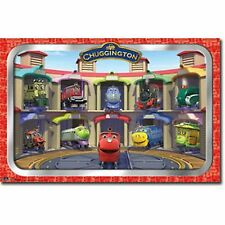 DISNEY TV SHOW CHUGGINGTON AND FRIENDS POSTER PRINT 34x22 NEW FREE SHIPPING