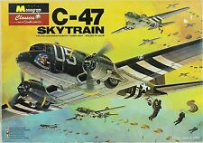 Monogram 1:48 Douglas C-47 Skytrain - Plastic Model Kit #5607U