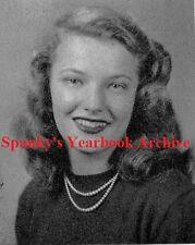1940's Actor Gena Rowlands inscribed High School Yearbook~John Cassavetes~++++
