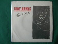 "TONY BANKS""THIS IS LOVE""(GENESIS)RARE 7"" GERMANY FIRST PRESS 1983 NM GERMAN"