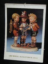 """Goebel Hummel Kalender Calendar 1957, Titel """"Schwieriges Problem"""""""