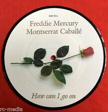"FREDDIE MERCURY/Queen -How Can I Go On- Rare UK 7"" Picture Disc (Vinyl Record)"