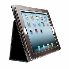 Kensington K39511WW Folio Case & Stand iPad 2 3 4 Thin Slim Tablet Cover Brown