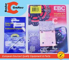1986 - 1998 SUZUKI GSXR 1100  -  REAR EBC HH RATED BRAKE PADS & NEW PINS