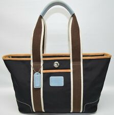 Coach Hamptons Nylon Small Top Zip Weekend Tote Shopper Purse 6261