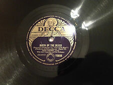 "BING CROSBY ""Birth Of The Blues""/""The Waiter And The Porter And..."" 78rpm EXC+"