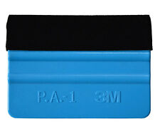 3M Squeegee Felt Edge For Carbon Fibre Vinyl Sheet. Car Wrap Applicator Tool 2pk