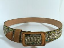 NEW!  Men's Mexican Belt Genuine Leather Size 38 Handmade Made In Mexico New!