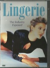 LINGERIE THE INDUSTRY EXPOSED IMAGE ENTERTAINMENT (2001) DVD BRAND NEW SEALED