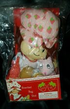 Strawberry Shortcake Scented Rag Doll 2002 NIP DIC those characters Cleveland