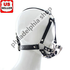 New  Fetish Fantasy Head Harness Restraint Spider Open Mouth double O-ring Gag
