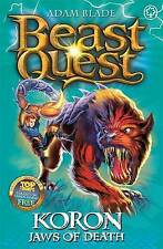 Koron, Jaws of Death (Beast Quest), Blade, Adam, Very Good condition, Book