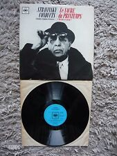 Igor Stravinsky Conducts Le Sacre Du Printemps Orig Mono UK CBS 1960 Vinyl LP