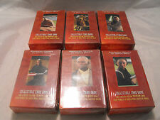 STAR WARS YOUNG JEDI CCG ENHANCED MENACE OF DARTH MAUL LOT OF ALL 6 DECKS