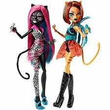 Monster High Fierce Rockers Catty Noir and Toralei Exclusive Dolls 2 Pack New