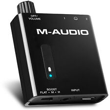 M-Audio Bass Traveler Portable Headphone Amplifier with Dual Outputs