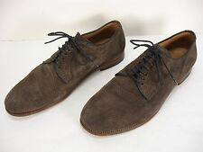 NOTIFY PERFORATED SUEDE LACE UP OXFORD DRESS SHOES MEN'S 42.5