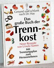 Gesund und schlank nach Dr. Hay - Das große Buch der TRENNKOST - Ursula Summ
