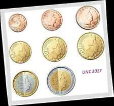 LUXEMBURG 2017  ***  LUXEMBOURG 2017 *** serie 8 pcs UNC  !!!