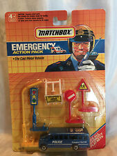 Matchbox Emergency Action Pack Police Transport Unit 88 School Bus Playset 50110