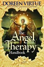 The Angel Therapy Handbook by Doreen Virtue Paperback Book