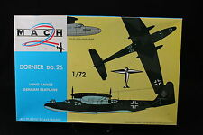 YU040 MACH 2 1/72 maquette avion GP 016 Dornier DO.26 German Sea Plane