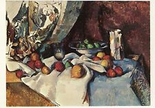 Paul Cezanne•Still Life with Apples 1895•French Impressionism POSTCARD