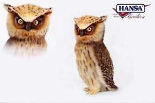 Eule Owl 26 cm Kuscheltier Stofftier Plüschtier Hansa Toy 6767