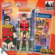 Super Friends SERIES 1 ROBIN 8 INCH ACTION FIGURE MOSC NEW