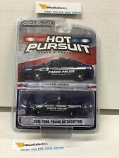 Greenlight * 2013 Ford Police interceptor Pasco * Hot Pursuit * Hobby Only