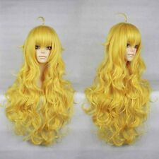 RWBY Yellow Trailer Yang Xiao Long curly yellow heat resistant cosplay wig 011D