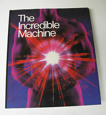 """""""The Incredible Machine"""" 1989 National Geographic Collectible Book 'Human Body'"""