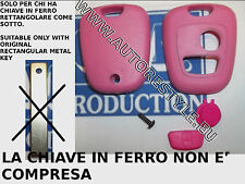 COVER CASE SHELL PINK FOR KEY REMOTE CONTROL 2 BUTTON PEUGEOT 107 207 307