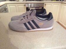 Adidas Dragon Trainers Size 9 Grey / Blue