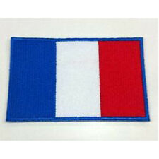 France Flag Embroidered Sew/Iron On Patch Patches