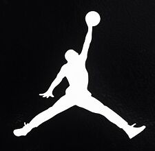 2X Michael Jordan Air Jumpman Basketball Logo Vinyl Decal Sticker